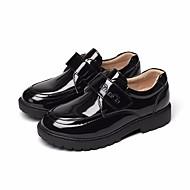 tanie Obuwie chłopięce-Dla chłopców Buty Derma Wiosna Jesień Comfort Mokasyny i pantofle na Casual White Black