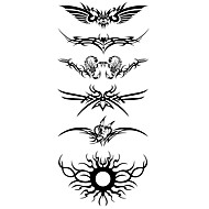 1 pcs Tatuaże tymczasowe Wodoodporny Korpus / Ramię / Klatka piersiowa Naklejki z tatuażem