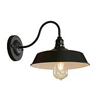 tanie Kinkiety Ścienne-Styl MIni Vintage Kraj Lampy ścienne Na Living Room Gabinet / Office Metal Światło ścienne 110-120V 220-240V 4W