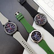 billiga Smart klocka Tillbehör-Klockarmband för Gear S3 Frontier Samsung Galaxy Sportband Silikon Handledsrem