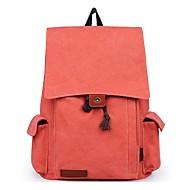 tanie Plecaki-Unisex Torby plecak Wzór / Nadruk Geometric Shape Brązowy / Czarny / Pomarańczowy