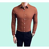 Camicia Per uomo Lavoro Essenziale Tinta unita