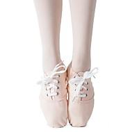 billige Jazz-sko-Dame Jazz-sko Lerret Joggesko Flat hæl Kan spesialtilpasses Dansesko Mandel / Innendørs / Trening