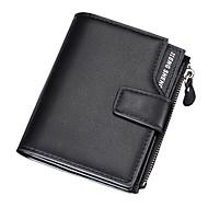 男性用 バッグ PUレザー / ポリウレタンレザー 財布 ジッパー ブルー / ブラック / コーヒー