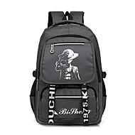 Χαμηλού Κόστους Intermediate School Bags-Ανδρικά Τσάντες Καραβόπανο σακκίδιο Φερμουάρ για Causal Όλες οι εποχές Θαλασσί Μαύρο Γκρίζο
