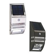 billige Utendørs Lampeskjermer-1pc 0.5W Wall Light Solar Infrarød sensor Utendørsbelysning Varm hvit Kjølig hvit DC3.7V 5.5V