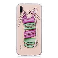 billiga Mobil cases & Skärmskydd-fodral Till Huawei P20 lite P20 Pro IMD Genomskinlig Mönster Skal Mat Mjukt TPU för Huawei P20 lite Huawei P20 Pro Huawei P20 P10 Plus