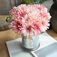 billige Kunstig Blomst-Kunstige blomster 7 Afdeling pastorale stil / Bryllup Krysantemum Bordblomst