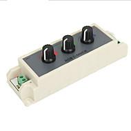 billige belysning Tilbehør-1pc 3- Veis / Strip Light Tilbehør Plast Demper Knapp / RGB-kontroller
