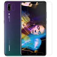 billiga Mobil cases & Skärmskydd-Skärmskydd Huawei för Huawei P20 PET Härdat Glas 2 sts Front och kameralinsskydd Antiglans Anti-fingeravtryck Reptålig Ultratunnt