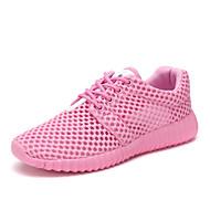 tanie Obuwie męskie-Męskie Komfortowe buty Tiul Wiosna / Jesień Adidasy Biały / Czarny / Różowy
