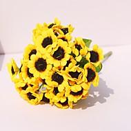 billige Kunstig Blomst-Kunstige blomster 1 Afdeling Moderne / Nutidig Krysantemum / Planter Bordblomst
