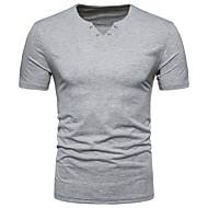 Herre-Ensfarvet Aktiv T-shirt