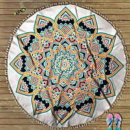 tanie Ręcznik plażowy-Najwyższa jakość Ręcznik plażowy, Geometryczny Poly / Cotton 1 pcs