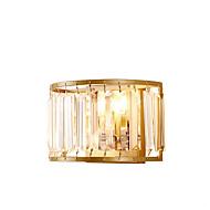 baratos Arandelas de Parede-ZHISHU Cristal / Estilo Mini Tifani / Rústico / Campestre Luminárias de parede Sala de Estar / Quarto / Sala de Jantar Metal Luz de parede