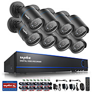 cheap -SANNCE@ 16CH 720P CCTV Security Cameras System No Hard Drive