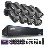 billige DVR-Sett-sannce @ 16ch 720p cctv sikkerhetskamera system ingen harddisk