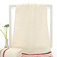 baratos Toalha de Mão-Qualidade superior Toalha de Lavar, Sólido / Listrado Poliéster / Algodão 1 pcs