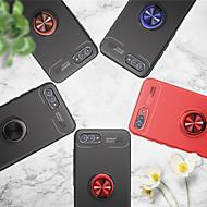 billiga Mobil cases & Skärmskydd-fodral Till Huawei Nova 2 / nova 2s Ringhållare Skal Enfärgad Mjukt TPU för Y9 (2018)(Enjoy 8 Plus) / Y7 Prime (2018) / Nova 2