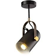 billige Spotlys-QIHengZhaoMing Spotlys Omgivelseslys Malte Finishes Metall 110-120V / 220-240V Varm Hvit Pære Inkludert