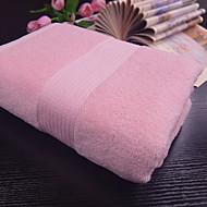 tanie Ręcznik kąpielowy-Najwyższa jakość Ręcznik kąpielowy, Jendolity kolor / Prążki Poly / Cotton / 100% bawełna 1 pcs