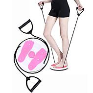 """baratos Equipamentos & Acessórios Fitness-Figura Trimmer / Prancha de Equilíbrio com Rotação Magnética Com Puxar corda 1 pcs 10.63""""(Aprox.27cm) Diâmetro Plástico ABS Treino de Força Fisioterapia, Perda de peso, Disco de Exercício Corporal"""