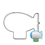 billige Kjeksverktøy-ballongskip airship cookies kutter rustfritt stål kake mold kjøkken