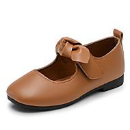 baratos Sapatos de Menina-Para Meninas Sapatos Borracha Primavera Verão Conforto / Sapatos para Daminhas de Honra Rasos Caminhada para Infantil Preto / Marron /
