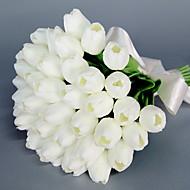 billige Kunstig Blomst-Kunstige blomster 1 Afdeling Brudebuketter / Bryllup Tulipaner Bordblomst