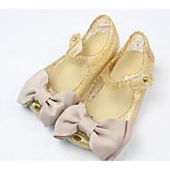 baratos Sapatos de Menina-Para Meninas Sapatos PVC Verão Conforto Sandálias para Dourado / Preto / Fúcsia