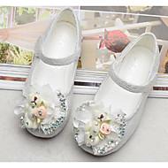 abordables Chaussures pour Fille-Fille Chaussures Tulle Printemps Confort / Chaussures de Demoiselle d'Honneur Fille Ballerines pour Blanc / Rose