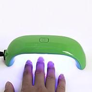 1 Stykke Nail Art Tool Negle Tørretumbler & Lampe Moderigtigt Design / Selvlysende Negle kunst Manicure Pedicure Mini Daglig / Nail Dryer & Lampe