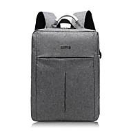 billige Computertasker-Oxfordtøj Laptoptaske Lynlås for Office & Karriere Forår sommer Mørkegrå / Lysegrå