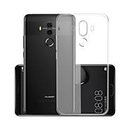 Case สำหรับ Huawei Mate 10 pro Transparent ปกหลัง สีพื้น Soft TPU สำหรับ Mate 10 pro