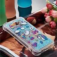 billiga Mobil cases & Skärmskydd-fodral Till Huawei Y6 (2017)(Nova Young) / Y3 (2017) Stötsäker / Flytande vätska / Mönster Skal Enhörnings Mjukt TPU för Huawei Y7 Prime(Enjoy 7 Plus) / Huawei Y7(Nova Lite+) / Huawei Y6 (2017)(Nova