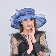 Χαμηλού Κόστους Αξεσουάρ-Γυναικεία Μονόχρωμο Βασικό / Γιορτή Δίχτυ - Καπέλο ηλίου