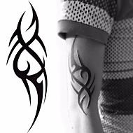 billiga Temporära tatueringar-5pcs Klistermärke Totemserier Tatueringsklistermärken