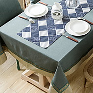 billige Bordduker-Moderne Andre / Bomull Kvadrat Duge Geometrisk Borddekorasjoner