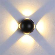 baratos Luzes para Espelho-OYLYW Estilo Mini LED / Moderno / Contemporâneo Luminárias de parede / Iluminação do banheiro Sala de Estar / Quarto / Interior Metal Luz de parede 85-265V 3 W / Led Integrado