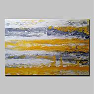 billiga Abstrakta målningar-Hang målad oljemålning HANDMÅLAD - Abstrakt Vintage Traditionell Duk