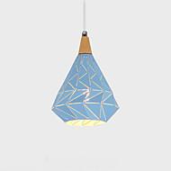 billiga Belysning-QINGMING® Geometriskt Hängande lampor Fluorescerande - Ministil, 110-120V / 220-240V Glödlampa inte inkluderad / 0-5㎡ / VDE / E26 / E27