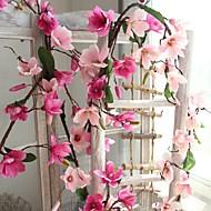 billige Kunstig Blomst-Kunstige blomster 1 Rustikt / Bryllup Orkideer Vægblomst / Ikke Inkluderet