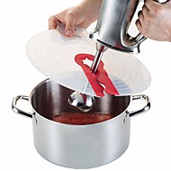 baratos Utensílios de Ovo-Utensílios de cozinha Silicone Gadget de Cozinha Criativa Coberturas de comida para ovos / Pó / Leite 1pç