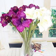 billige Kunstig Blomst-Kunstige blomster 3 Afdeling Stilfuld / Rustikt Orkideer kurv med blomster