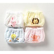 billige Undertøj og sokker til babyer-3stk Baby Unisex Trykt mønster Undertøj og strømper