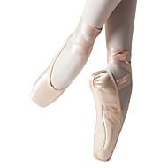 billige Ballettsko-Jente Ballettsko Silke Flate Sløyfe Flat hæl Kan spesialtilpasses Dansesko Rosa / Innendørs / Trening