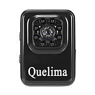 Quelima R3 1080p ミニ / ナイトビジョン / デュアルレンズ 車のDVR 120度 広角の CMOS ダッシュカム とともに G-Sensor / エンドレスレコーディング 8 赤外線LED カーレコーダー