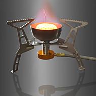 levne Kuchyňská náčíní-DesertFox® Kempovací plynový vařič Kuchyňské náčiní na outdoor Větruvzdorné / Skládací Aluminum Alloy / Měděná Outdoor pro Turistika /