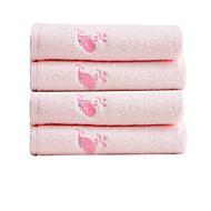 baratos Toalha de Banho-Qualidade superior Toalha de Mão, Bordado 100% algodão 1 pcs