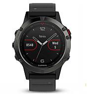 billige Smartklokker-Smartklokke Fenix5 for iOS / Android / Windows-telefon GPS / Vannavvisende / Trenings logg Aktivitetsmonitor / øvelse Påminnelse / 64MB